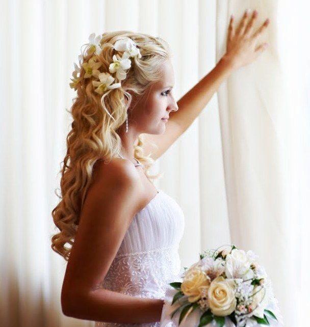 Свадебная прическа на дому гатчина